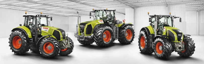 Тракторы CLAAS XERION | AXION | ARION